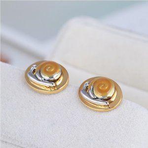 Tory Burch Fashion Enamel Snail Earrings